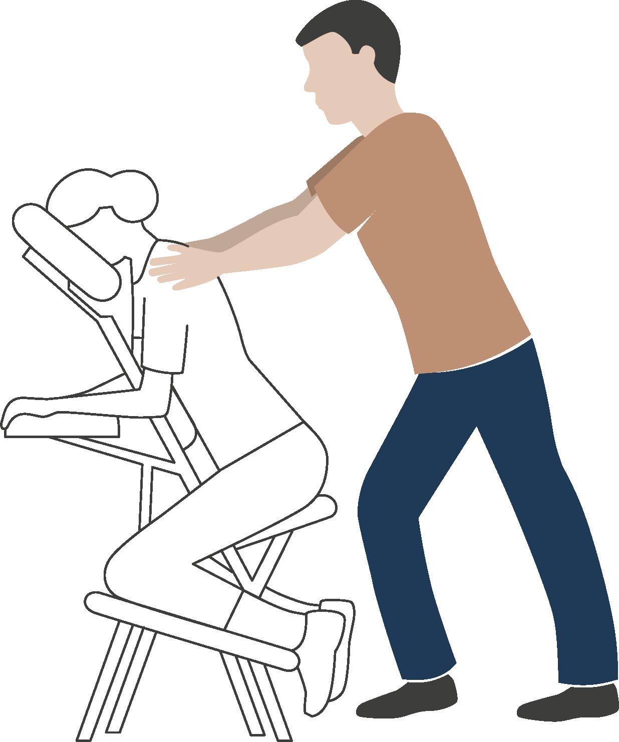 massage Amma assis Drôme
