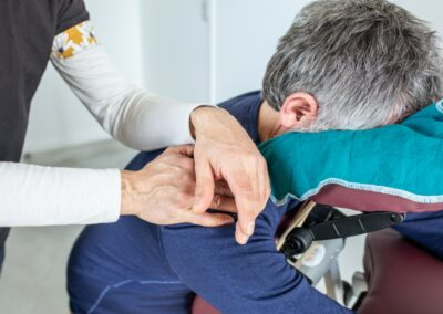 Massage entreprise drome / coud'pouce : amma assis