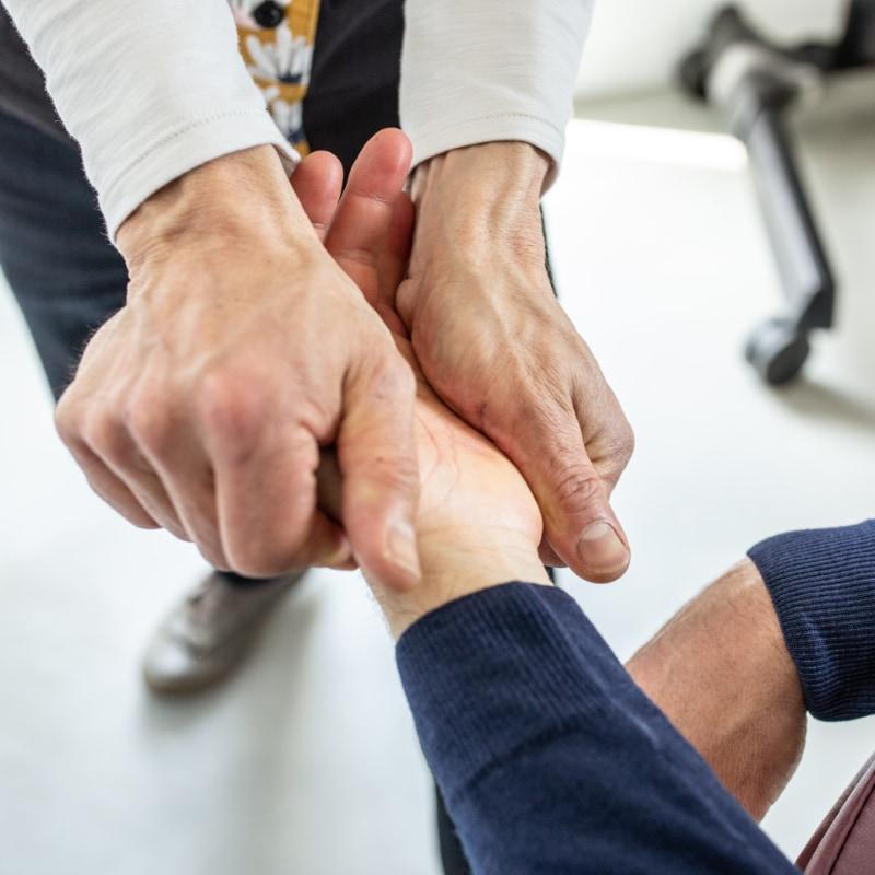 Massage entreprise drome / coud'pouce : Détendre les muscles